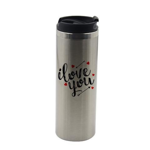 STAINLESS STEEL THERMOS MUG