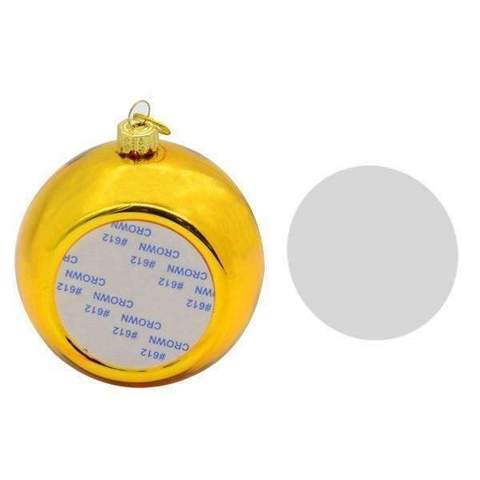 CHRISTMAS BAUBLE - GOLD