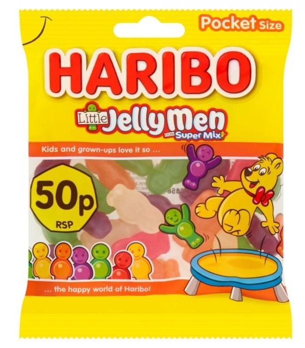 Haribo Little Jelly Men Bag 70g
