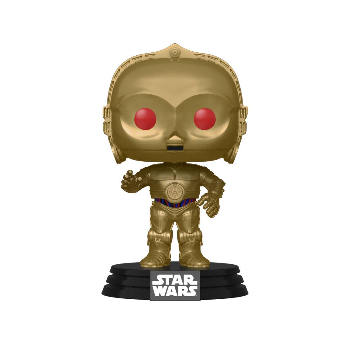 Star Wars Episode IX POP! Movies Vinyl Figure C-3PO (Red Eyes) 9 cm