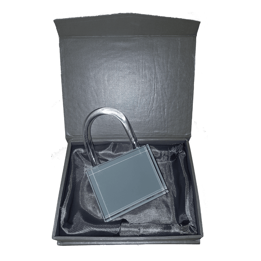 CRYSTAL LOCK WITH GIFT BOX