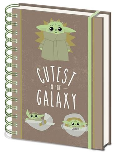 Star Wars - Baby Yoda Cutest In The Galaxy Notebook