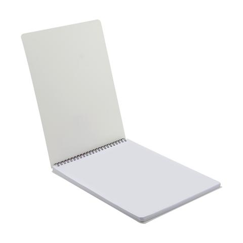 SPIRAL SKETCHPAD PLASTIC COVER A4