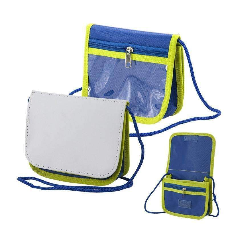 SLING BAG BLUE AND GREEN