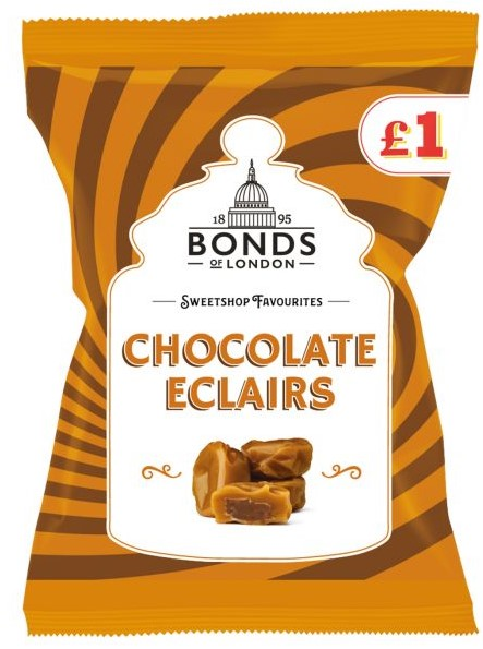 Chocolate Eclairs Bags 150g
