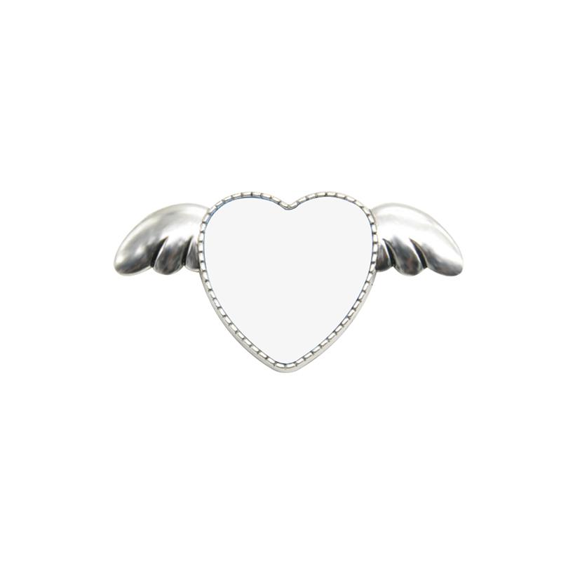 Heart Metal Pin Badge