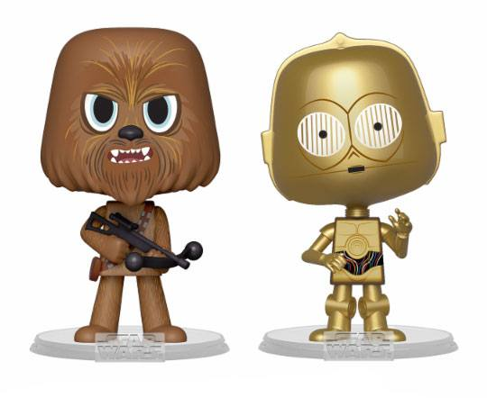 Funko VYNL 2-Pack: Star Wars - Chewbacca & C-3PO Vinyl Figures 10cm
