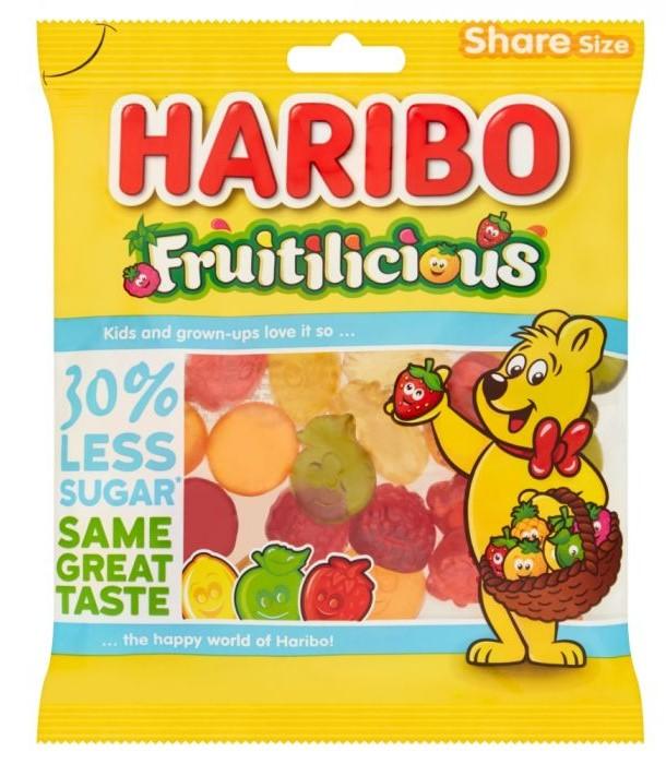 Haribo Fruitilicious  Share Bag 120g