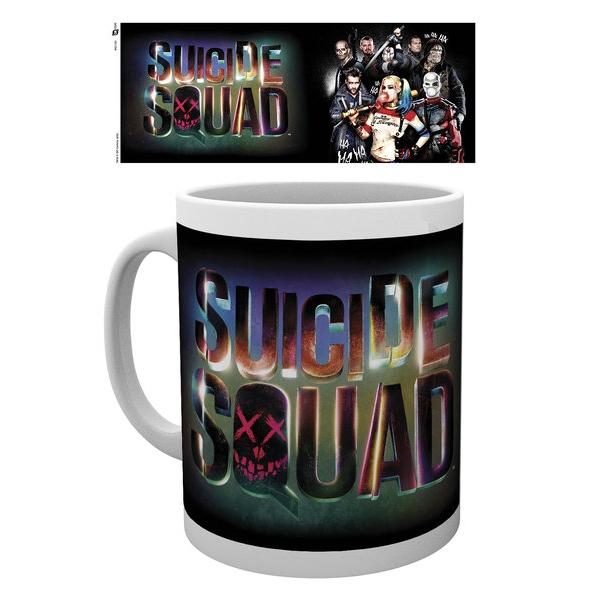 Suicide Squad Boxed Mug Logo