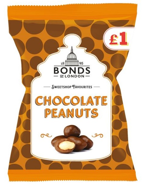 Chocolate Peanuts Bags 130g