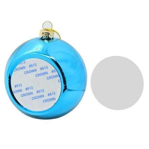 CHRISTMAS BAUBLE - BLUE