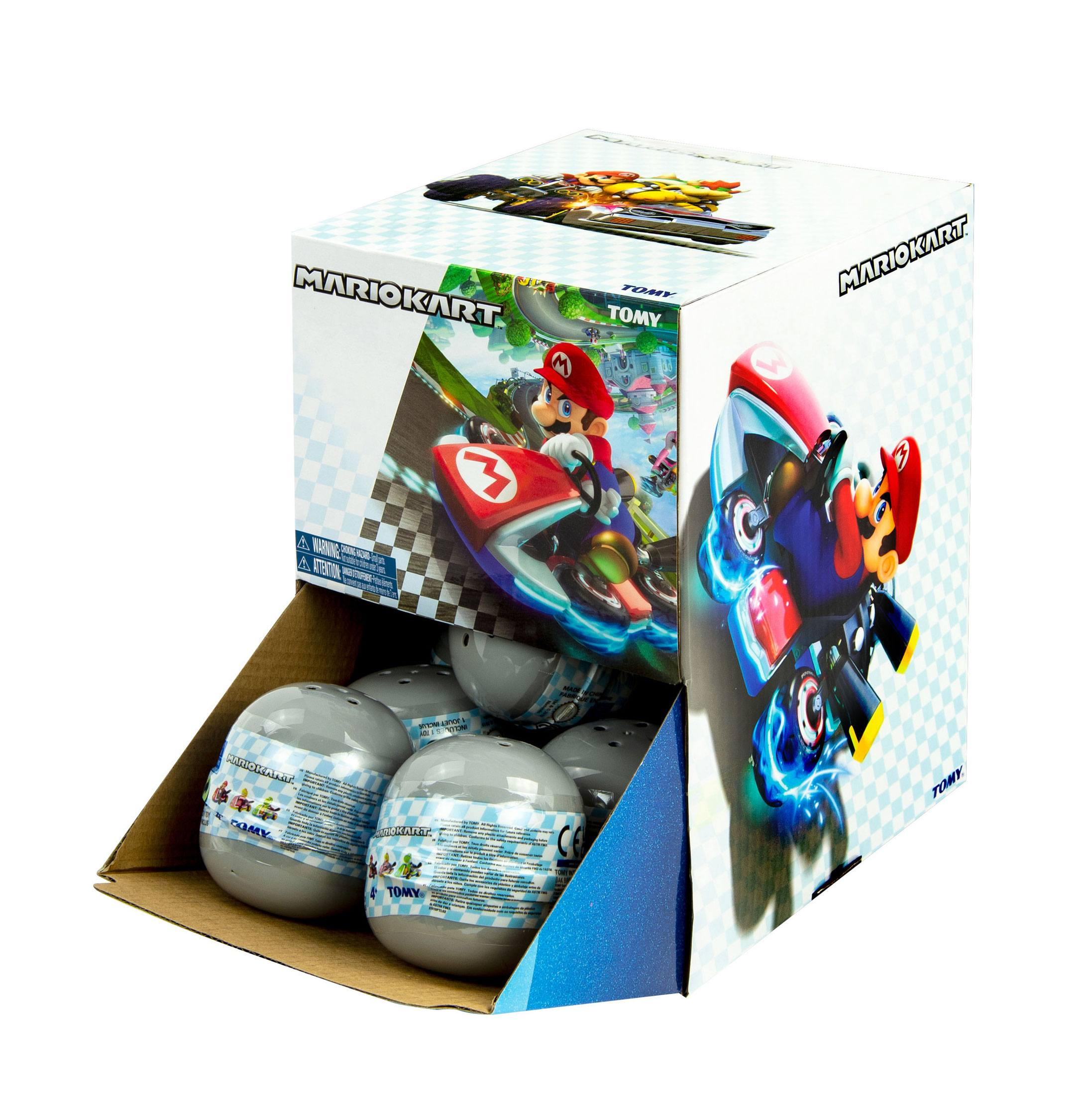 Mario Kart Pull Backs