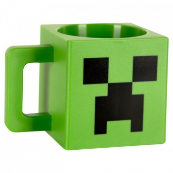 Minecraft Creeper Mug Plastic