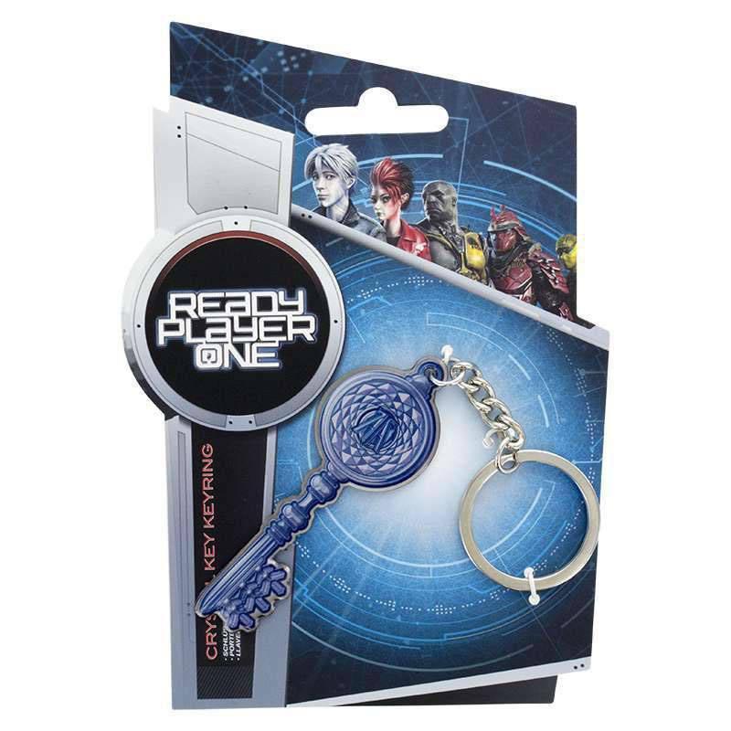 Ready Player One Metal Keychain Crystal Key 6 cm