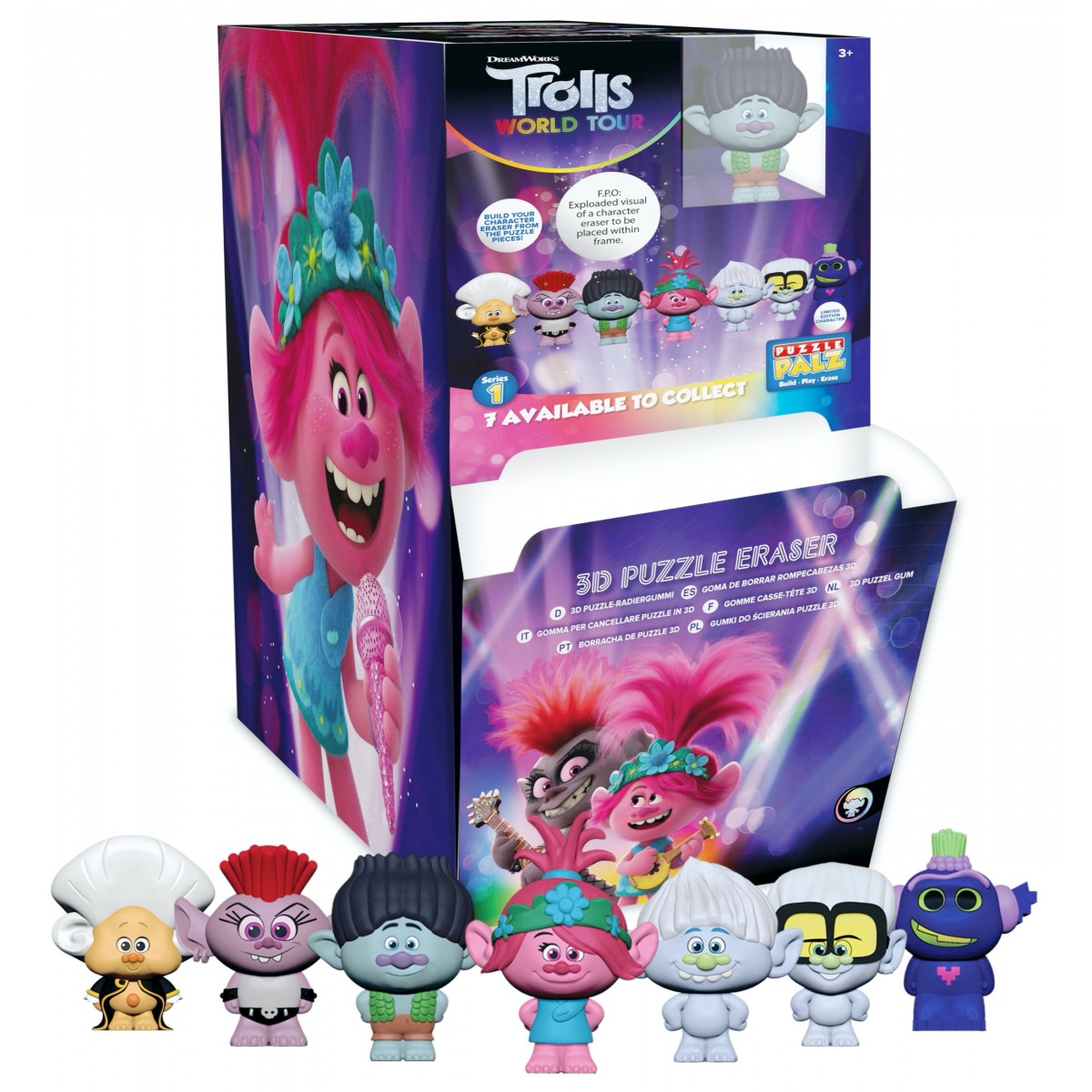 Trolls World Tour Puzzle Eraser