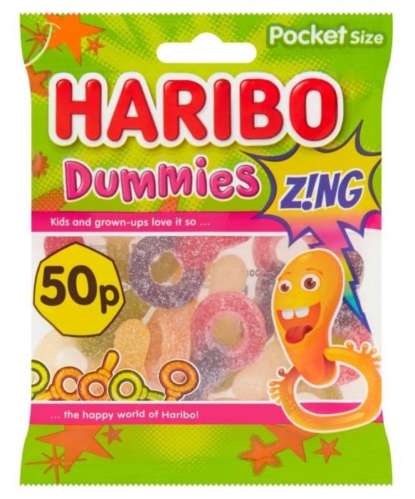 Haribo Dummies Z!NG Bags 70g