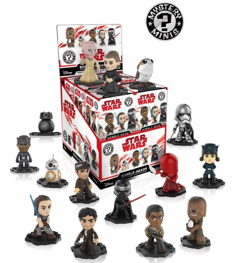 Star Wars Episode VIII Mystery Minis Vinyl Mini Figures 6 cm