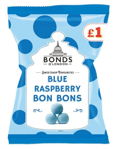Blue Raspberry BonBons 150g Bag