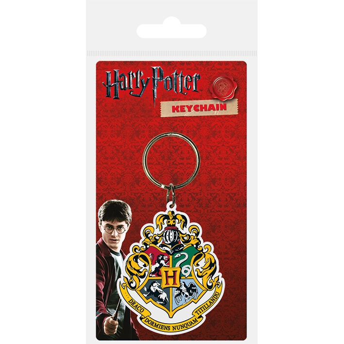 Harry Potter Keyring Hogwarts Crest