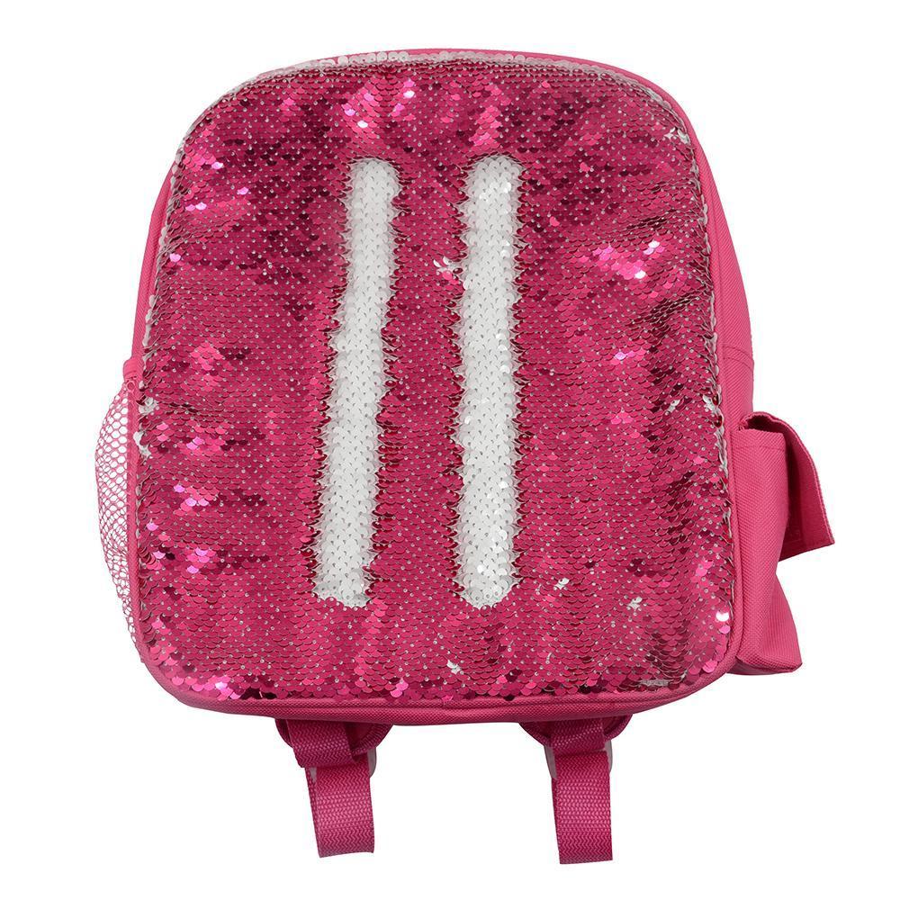 Kids Pink Sequin Backpack