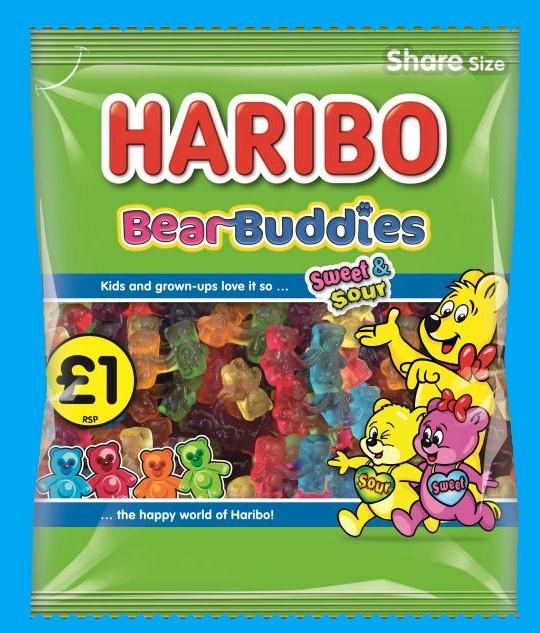 Haribo Bear Buddies Share Bags 180g