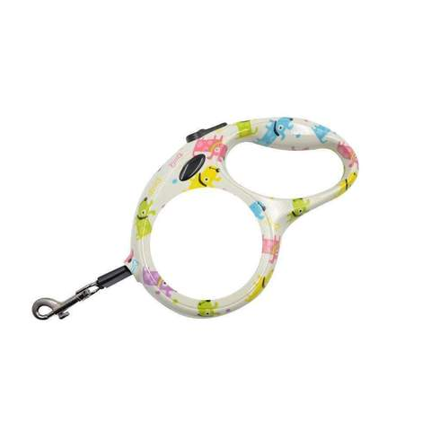RETRACTABLE PET LEAD DOG DESIGN SMALL