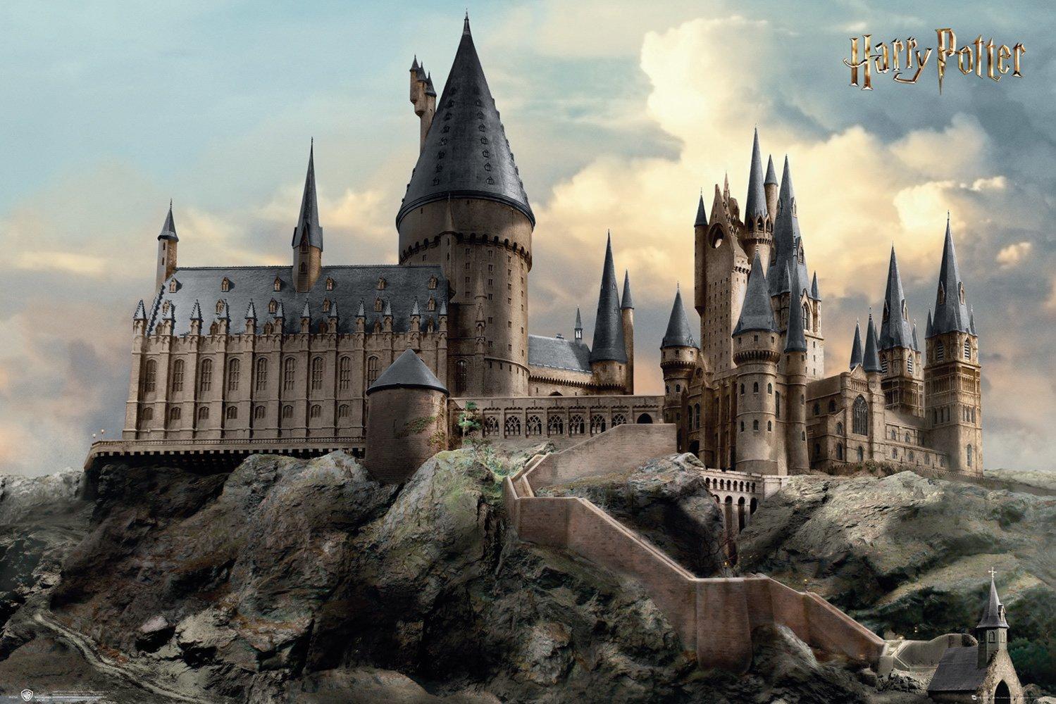 Harry Potter Hogwarts Day Poster