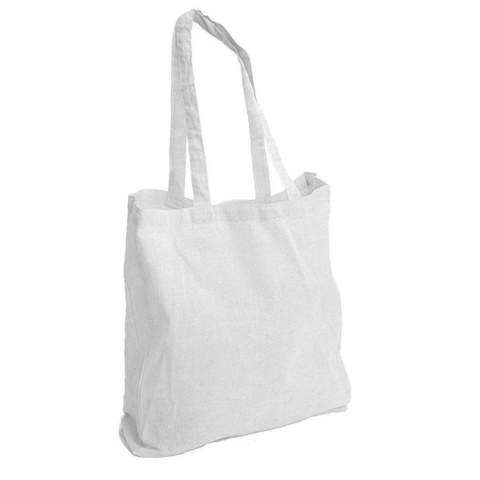 WHITE SOFT TOTE BAG