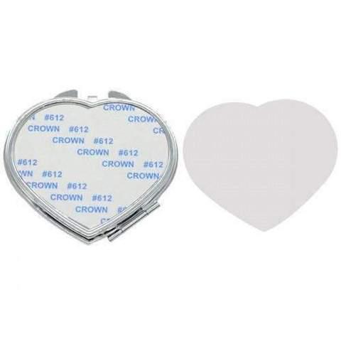 LOVE HEART POCKET MIRROR