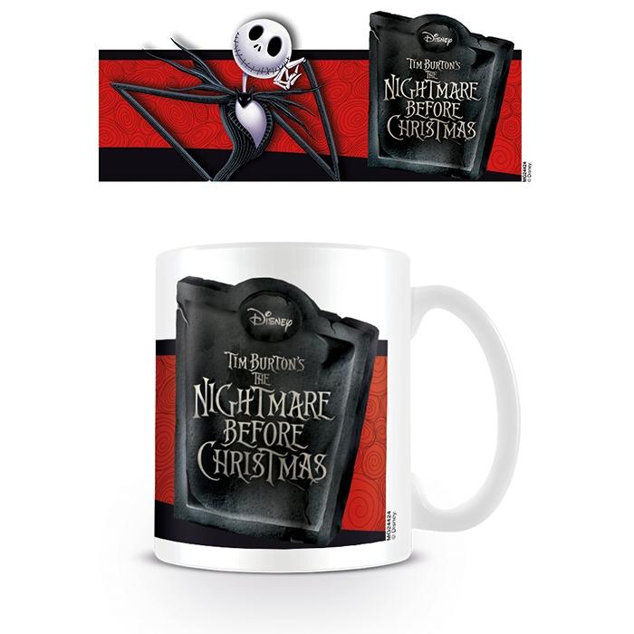 Nightmare Before Christmas Boxed Mug Jack Banner