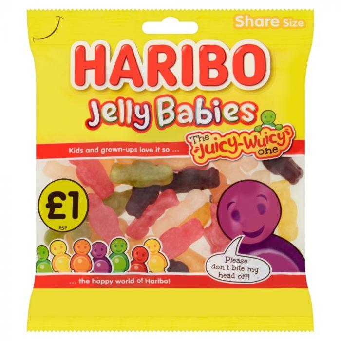 Haribo Jelly Babies Bags 180g