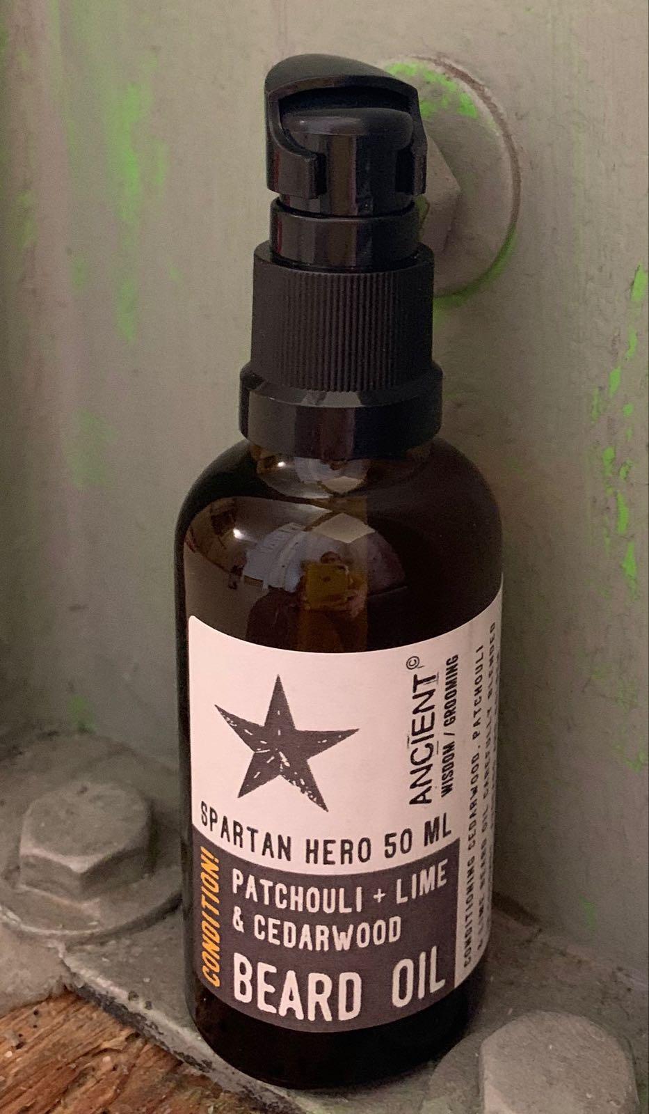 Bartöl spartanischer Held
