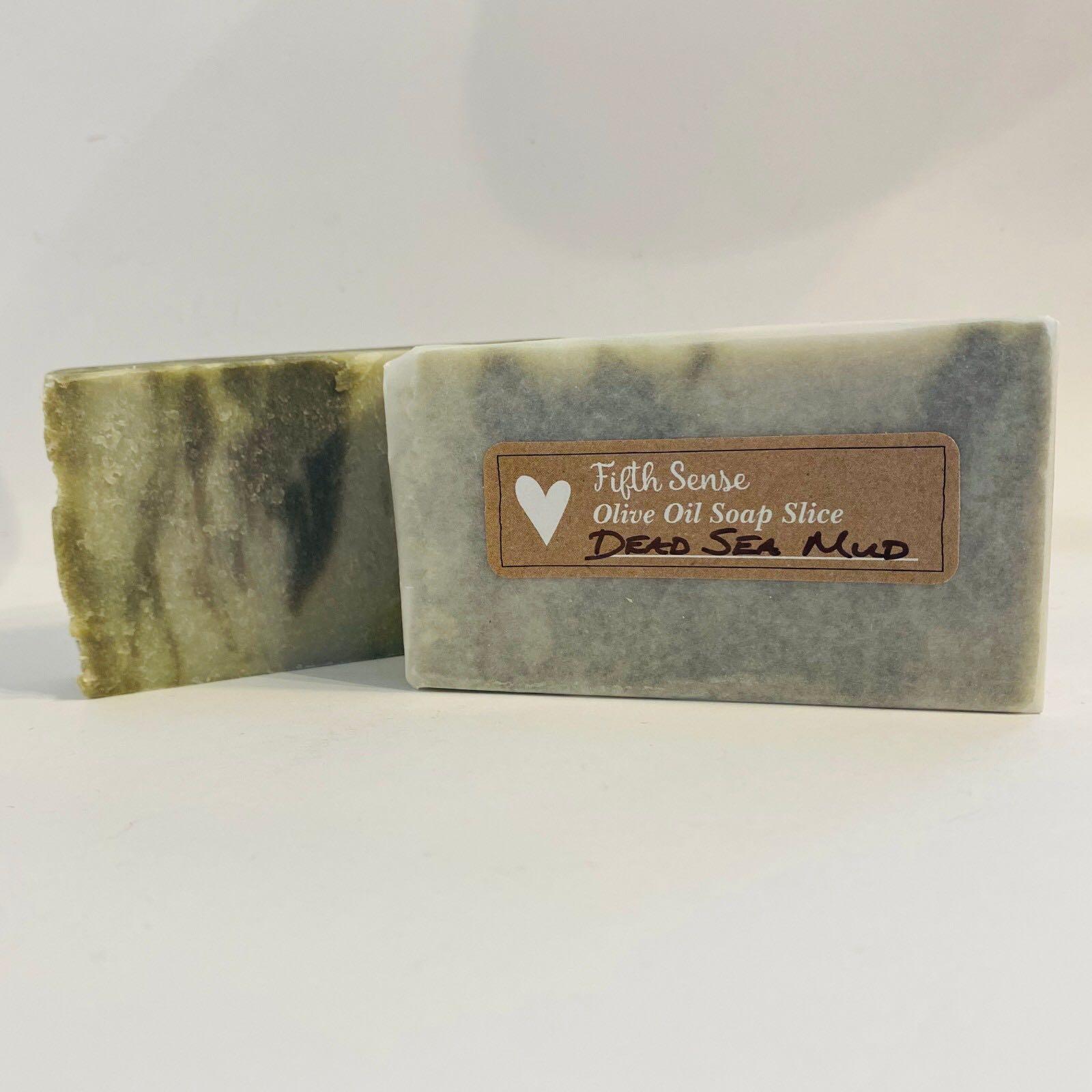 Dead Sea Mud Olive Oil Soap Slice