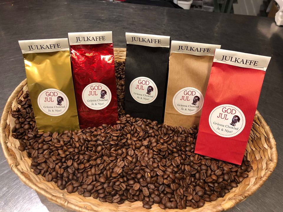 Kaffe i olika smaker