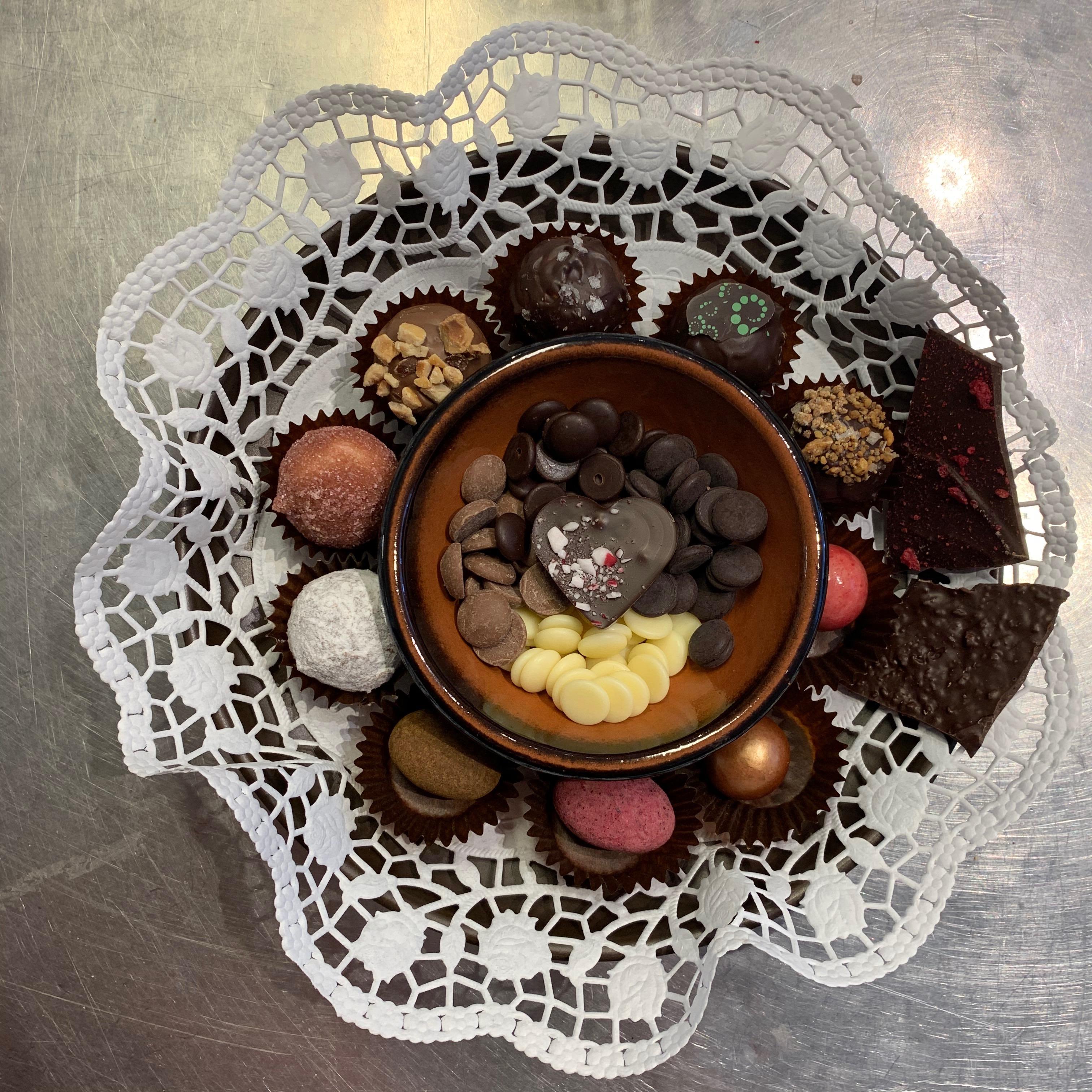 Chokladprovning hemma
