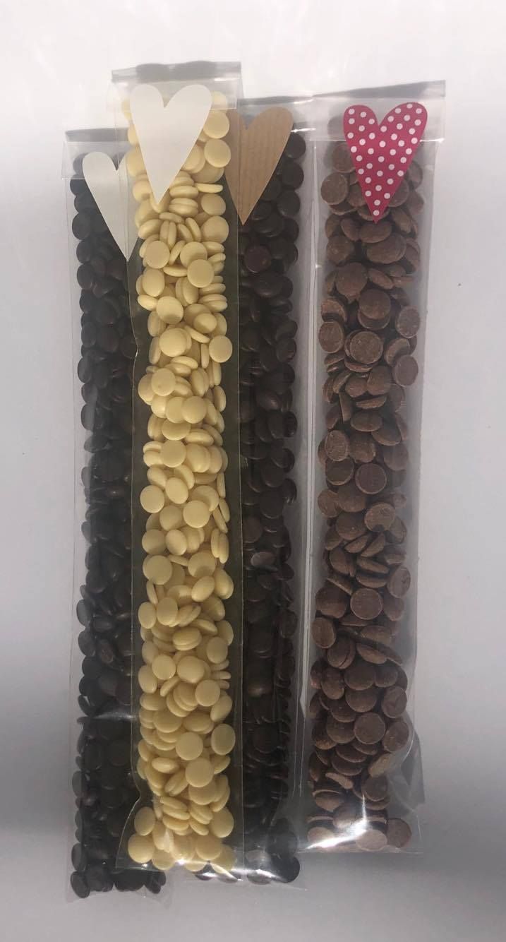 Chokladknappar 110g