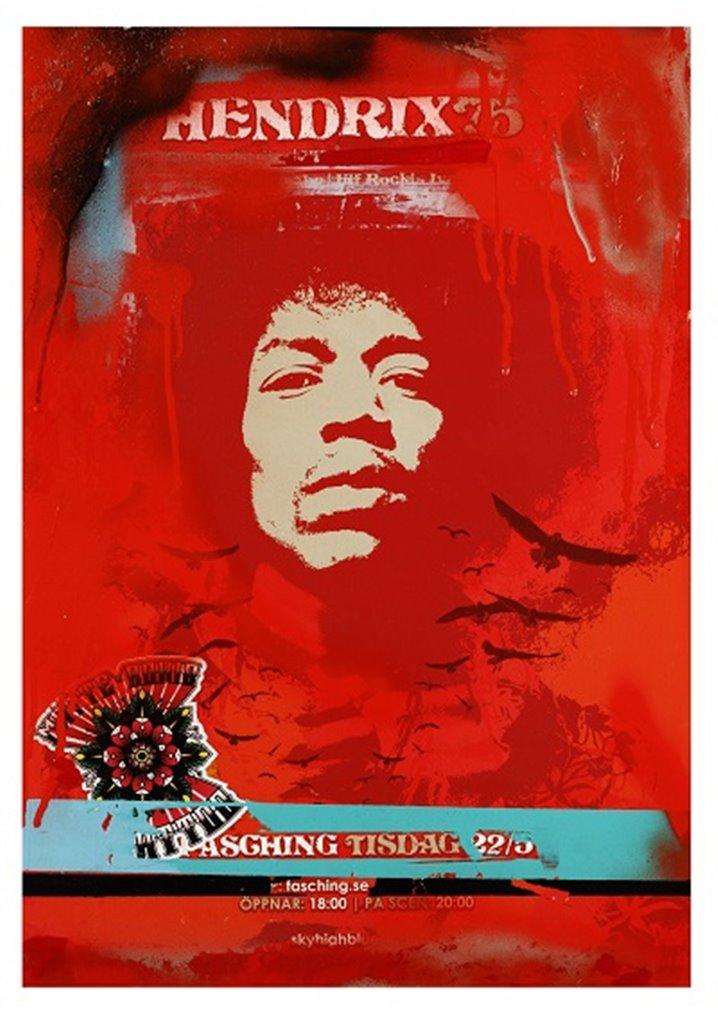 Peter Frisk - Jimi Hendrix