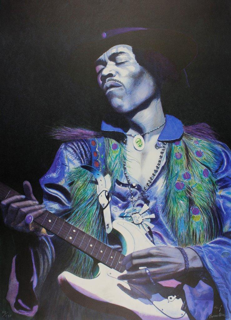 Kaj Bernstone - Jimi Hendrix 3