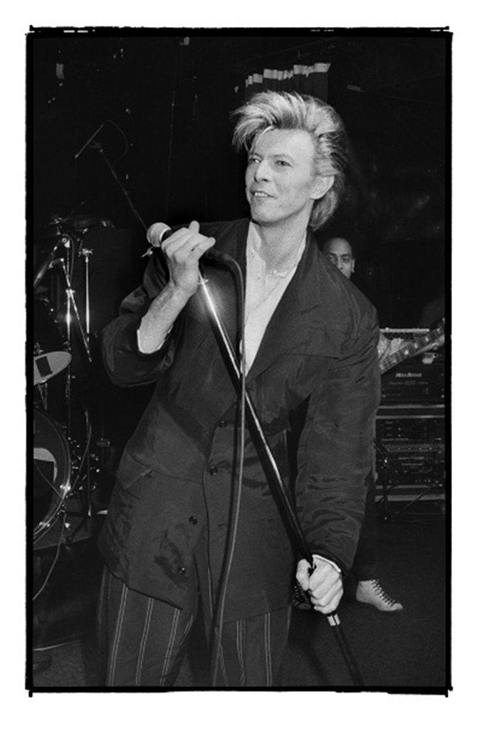 Peter Nordahl - David Bowie Stockholm - Ritz