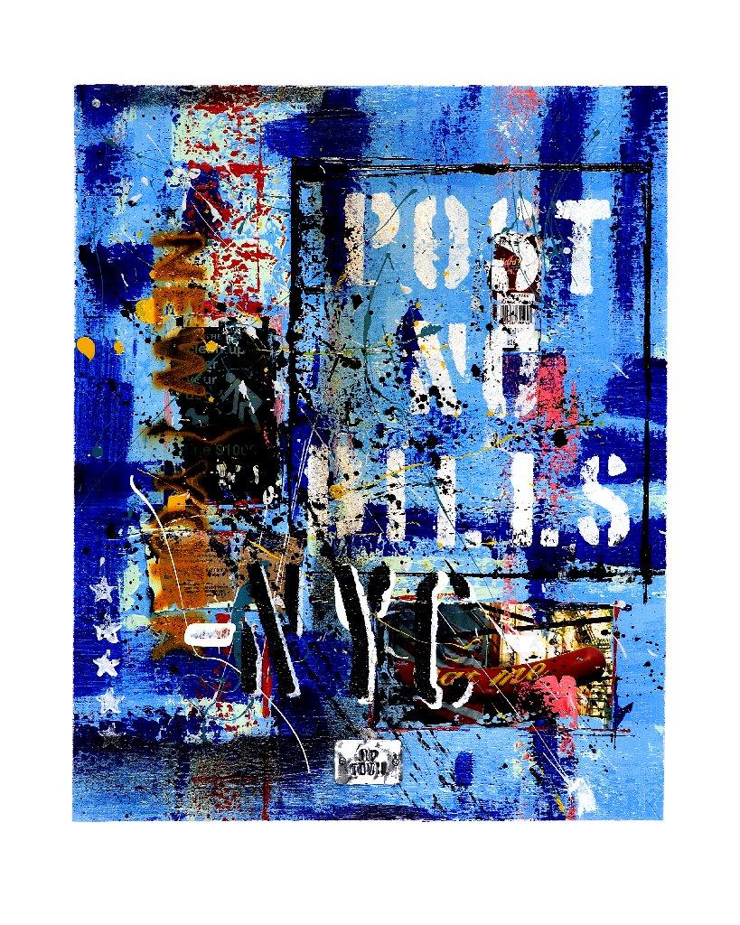 Emanuel - Post No Bills - Blue