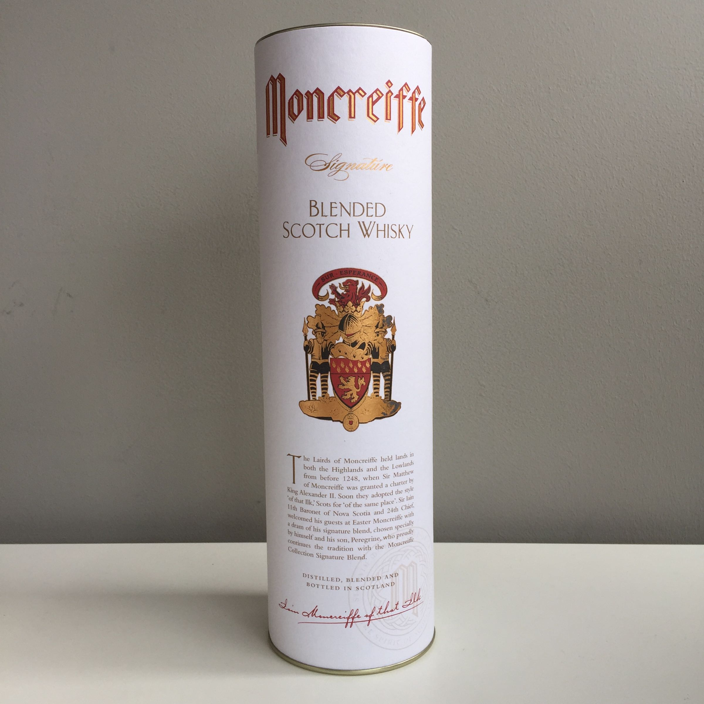 Moncreiffe Signature Blended Scotch Whisky 70cl 46% ABV