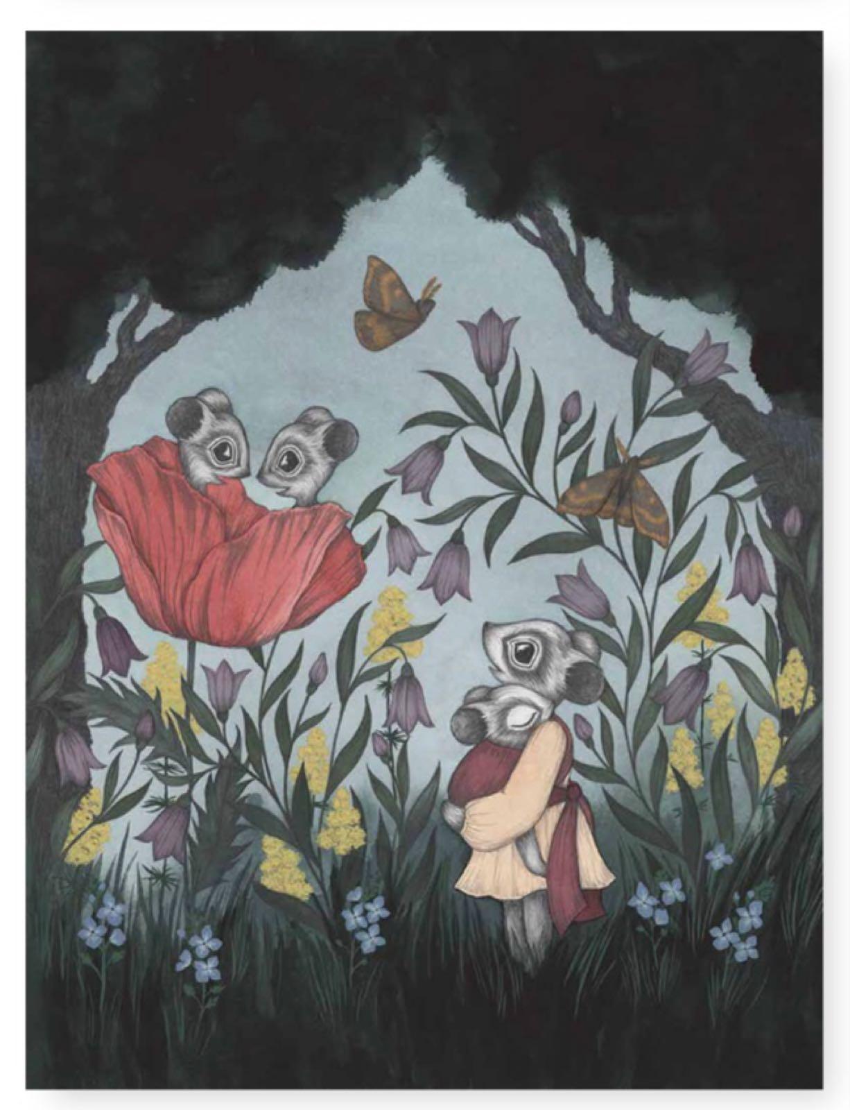 Kajsa Wallin - Poster Poppy