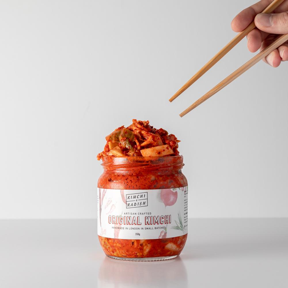 Original Kimchi, Extra Hot (Vegan)