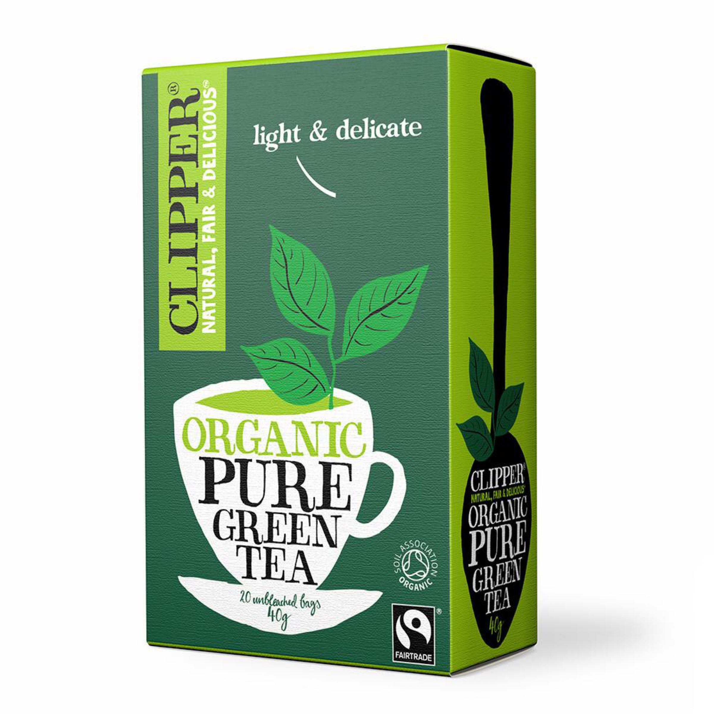 Clipper Organic Pure Green Tea (20 bags)