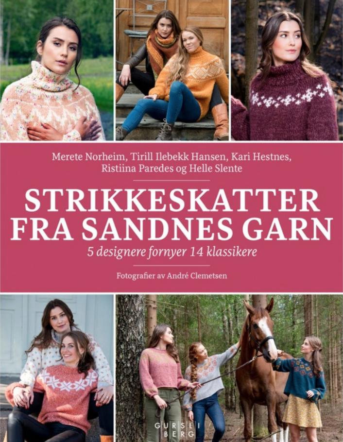 Strikkebok : Strikkeskatter fra Sandnes garn AS