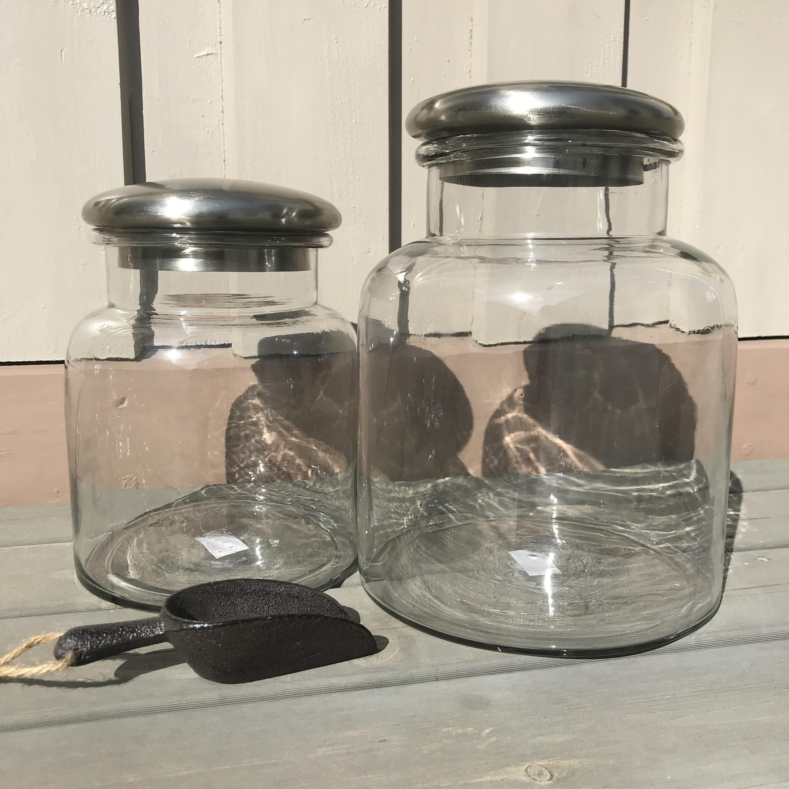 BELLA : glasskrukke med lokk