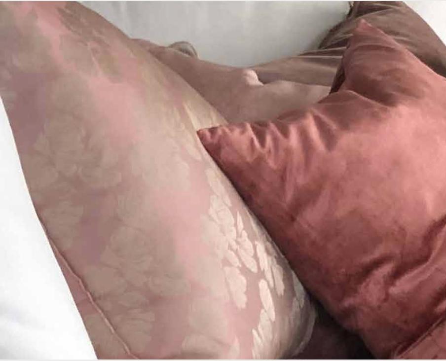 Bygdøy : putetrekk i ekte silke