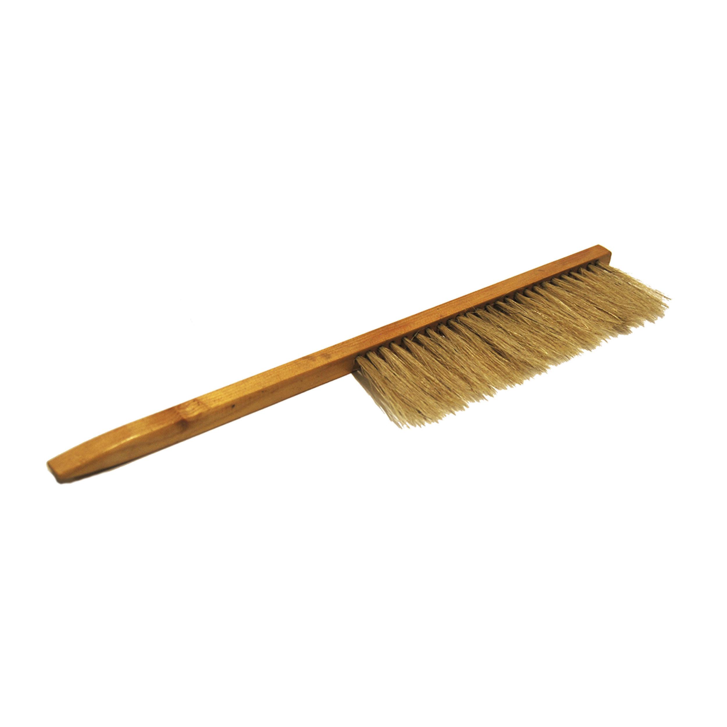 Pesäharja, puinen