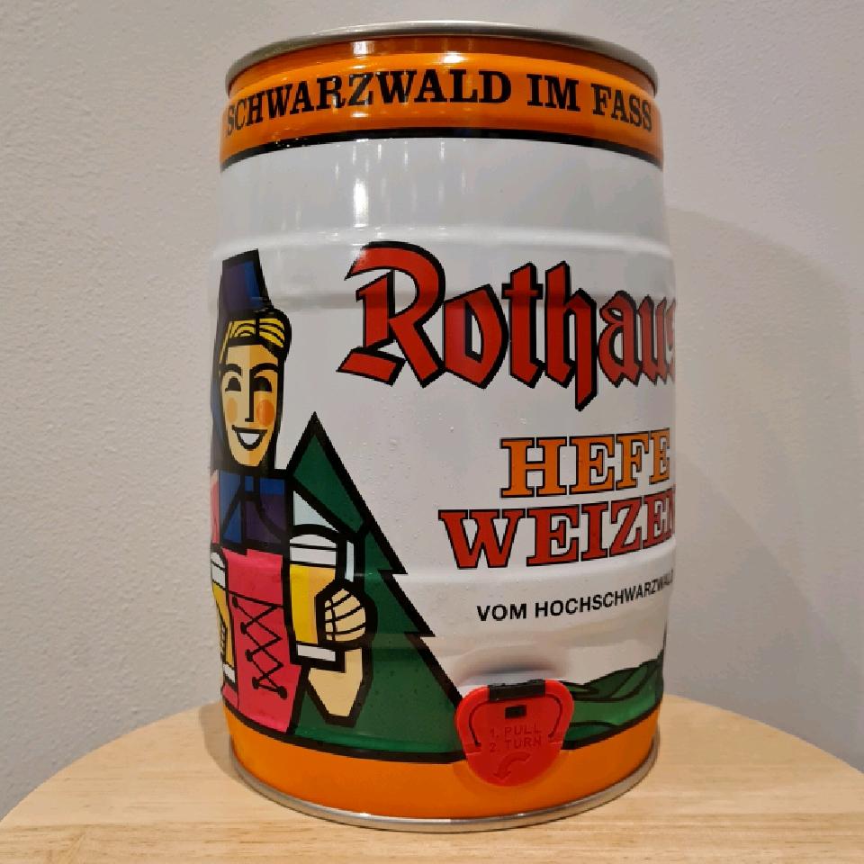Rothaus Hefe Weizen 5ltr Mini Keg