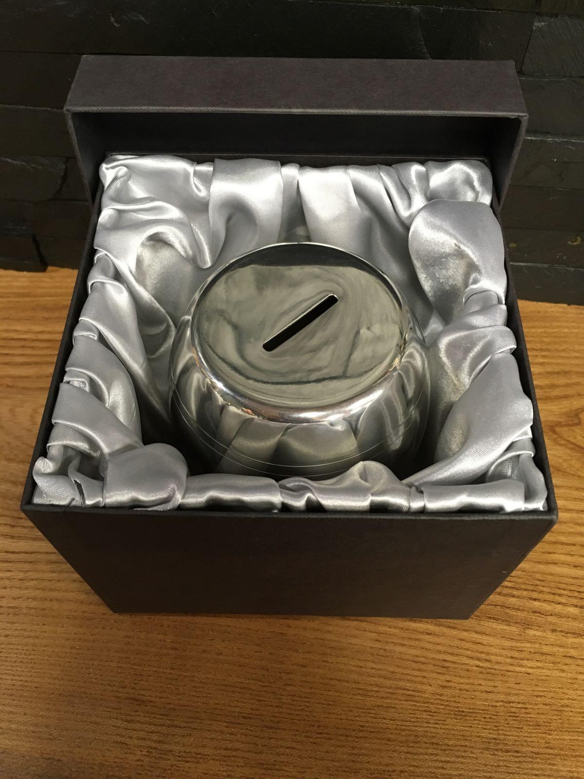 Pewter Barrel Box